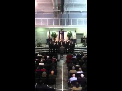 His Righteousness by Mars Hill Bible School's Young Men Ensemble - 11/18/2012
