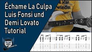 Download Lagu Echame La Culpa - Luis Fonsi, Demi Lovato   ► Gitarre lernen Gratis STAFABAND