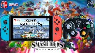 Super Smash Bros Ultimate Docked & Undocked Resolution Revealed + GameCube Adapter & Controller!