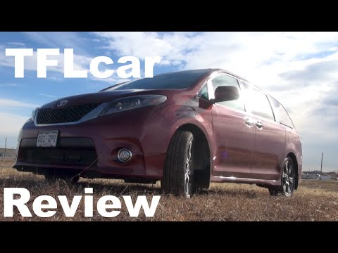 2015 Toyota Sienna 0-60 MPH Test Track Review: Yes, we track a Minivan