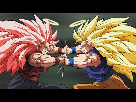 Goku Vs. Evil Goku Iii video