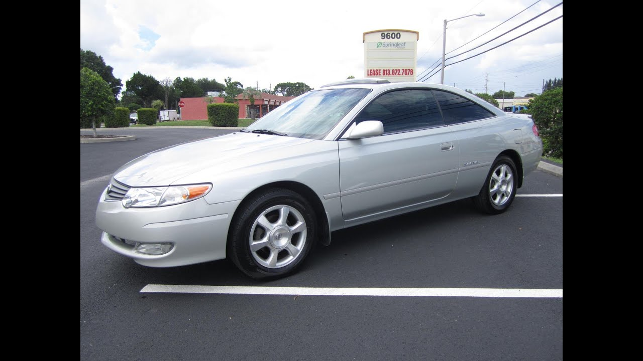 Sold 2002 Toyota Solara Sle V6 Meticulous Motors Inc