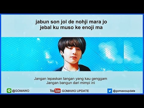Easy Lyric JUNGKOOK 'BTS' - EUPHORIA by GOMAWO [Indo Sub]