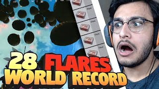 28 FLARE GUN WORLD RECORD | PAYLOAD MODE NEW FLARE GLITCH | PUBG MOBILE HIGHLIGHTS | RAWKNEE