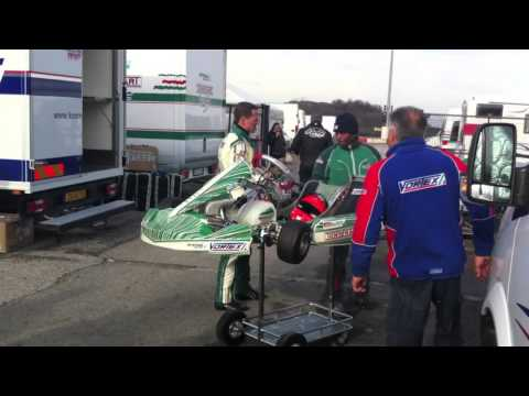 MICHAEL SCHUMACHER IMPRESSIVE KART TRAINING TEST NEW TONY KART EVK  SOUTH GARDA KARTING LONATO 01/13