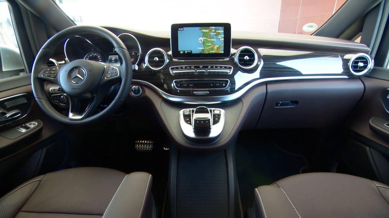 NEW 2015 Mercedes V-Class Edition 1 - INTERIOR - YouTube