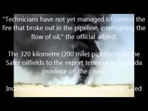 Gunmen attack main Yemen pipeline, halt oil flow
