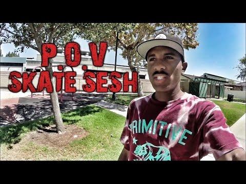 DAVONTE JOLLY P.O.V SKATE SESH #2
