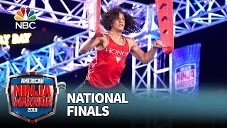 Daniel Gil at the National Finals: Stage 1 - American Ninja Warrior 2016