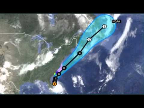 Hurricane Arthur warning for north carolina coast - news 247