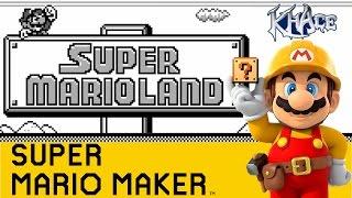 Super Mario Land Remade in Super Mario Maker