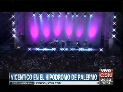 C5N - MUSICA: RECITAL DE VICENTICO EN EL HIPODROMO (PARTE 1)