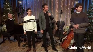 David Archuleta Nathan Pacheco A Lighttheworldlive The Prayer 12 Dec 2017