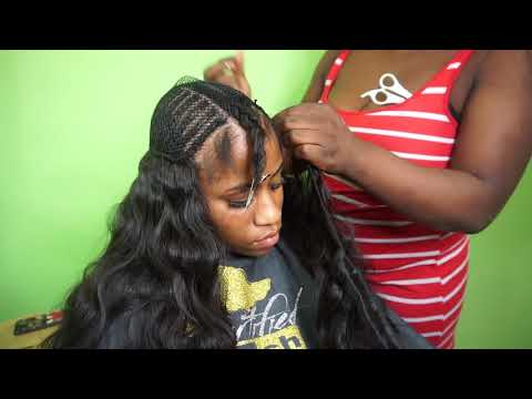 Tutorial on a part in the middle sew-in