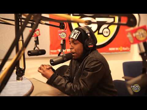 Kendrick Lamar Freestyle On Hot 97 With Funkmaster Flex!