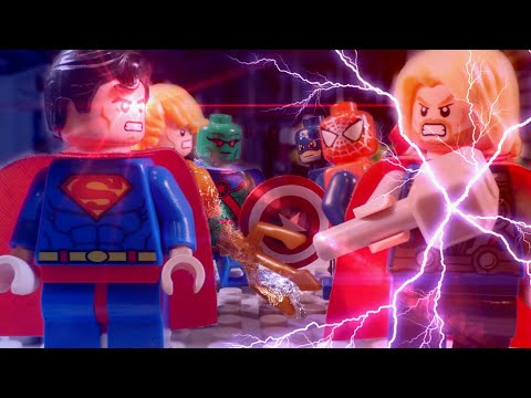 Lego Marvel vs DC Super Heroes 2