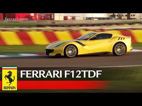 Итальянцы представили 780-сильное купе Ferrari F12tdf