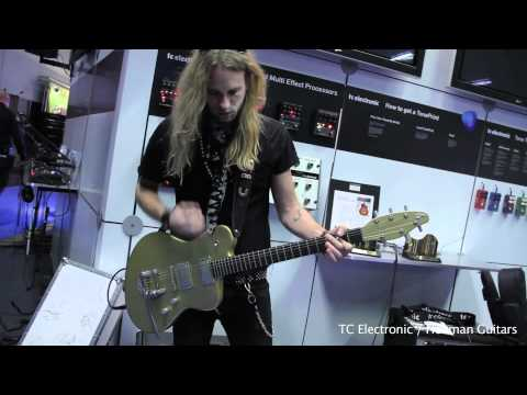 TC Electronic / Henman Guitars / Anders Bo / NAMM Show 2011 / Vintage&RareTV