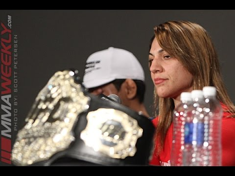 Bethe Corriea Wants Ronda Rousey UFC 177 Post Press Conference