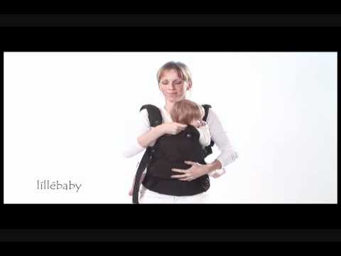 Lillebaby Nordic Baby Carrier - Front Face In Carry Position (Infant Saddle or Support Seat)