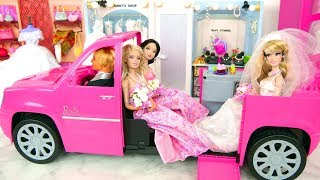 New Clothing Store for Dolls, Barbie Wedding Dresses Loja de roupas Toko pakaian محل الملابس