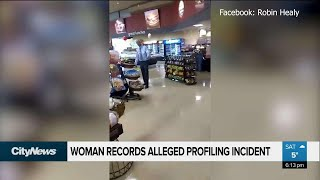 Woman records alleged profiling incident at Safeway