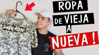 DIY COMO TRANSFORMAR TU ROPA VIEJA A NUEVA | DIY CLOTHES LIFE HACKS