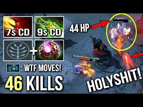 EPIC Pro Shadow Fiend Combo Eul's WTF Jukes and Moves by Yapzor Insane Gameplay 7.07 Dota 2