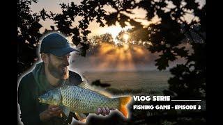 Vlog serie - Fishing game épisode 3 - Pêche à la carpe rivière