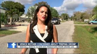 Mother concerned about 'peeping drone,' new bill wants to ban sex predators from drone use