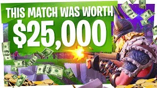 This Game of Fortnite WON us $25,000! - Fortnite 250K Summer Skirmish Winner