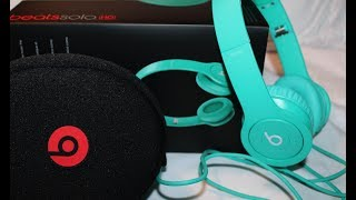 Drenched in Teal Beats Solo HD Unboxing!