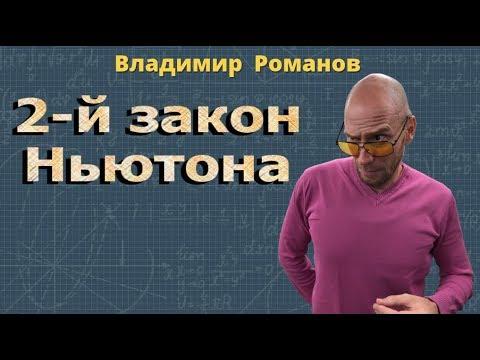 физика ВТОРОЙ ЗАКОН НЬЮТОНА 9 класс