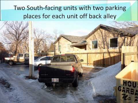 4plex 1500 SF Rental Unit in Taber AB