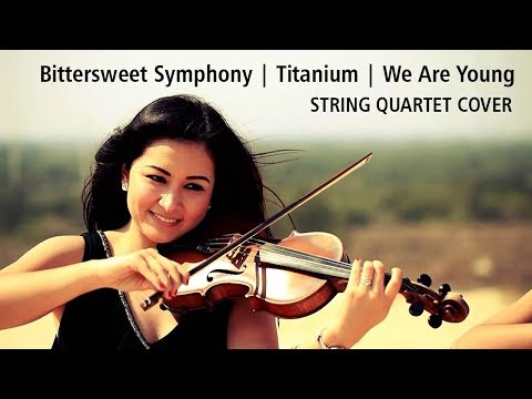 Tempus Quartet Violines - Bitter Sweet Symphony/Titanium/We Are Young