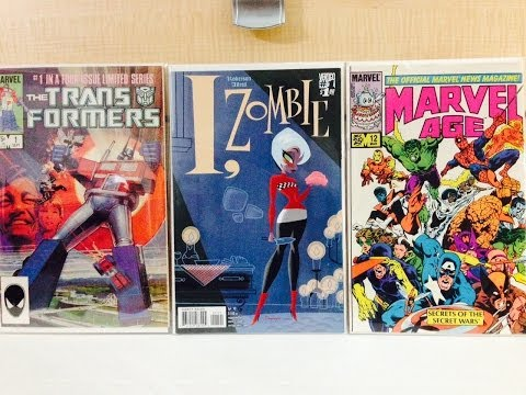 Comic Book Haul #67 BOOKS WORTH BUYING II +NEW STORE!