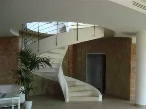 Scale a chiocciola scale elicoidali scale in muratura scale a sbalzo youtube - Scale per esterno in muratura ...