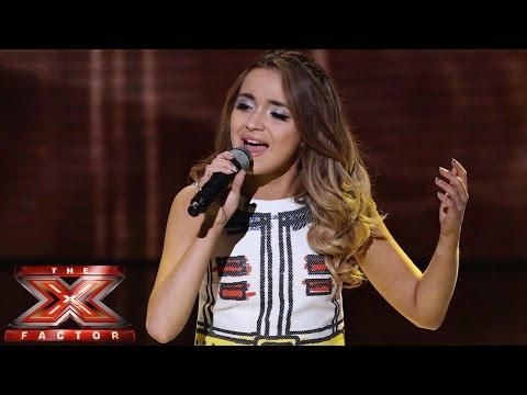 Lauren Platt X Factor semi-final performance stay another day