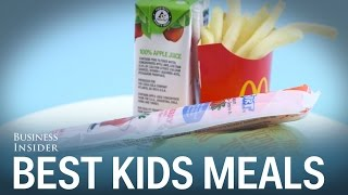 We tried the kids' meals at the biggest fast food chains - here's the best one