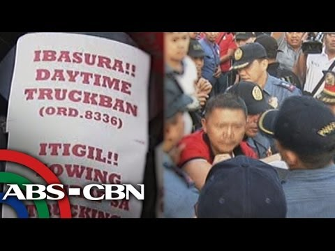 Truckers warn of possible effects of Manila truck ban
