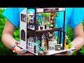 DIY Miniature Coffee Shop Dollhouse