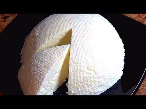 Адыгейский сыр из магазинного молока. Обалденно вкусный!