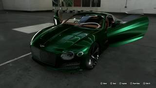 Maxing Out The Bentley Speed 6 EXP 10 Concept. Silly Car Build Episode 2