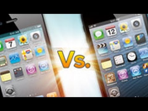 iPhone 5 vs. iPhone 4S - Feature Comparison