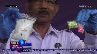 Tersangka Menyembunyikan Narkotika di Dalam Televisi NET24