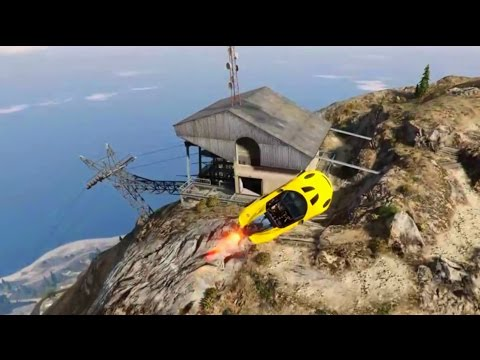 GTA 5 DLC Coil Rocket Voltic Testing Funny Moments and Epic Fails with a Jet Car
