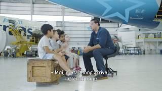 Les futurs experts d'Air Transat - À quelle vitesse nos avions volent-ils?