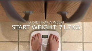 I tried IU's diet for a week (K-pop idol diet)