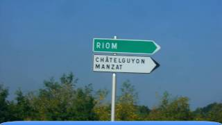 Voyage en France : Autoroute A89 Lyon - Bordeaux