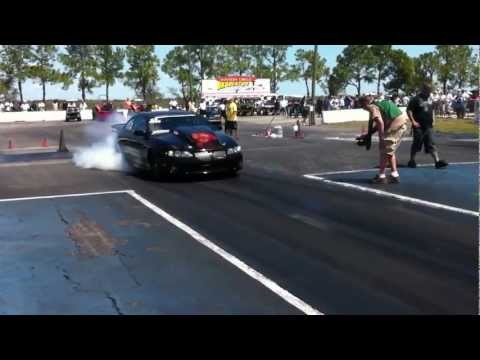 Danny Shemwell 8.00 in semi finals winner NMCA Bradenton 2012